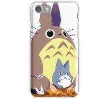 Totoro and Baby Totoro iPhone Case/Skin