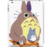 Totoro and Baby Totoro iPad Case/Skin