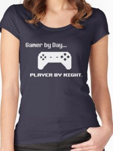 24/7 Gamer Women's Fitted Scoop T-Shirt