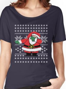 Santa Dab Dancing Women's Relaxed Fit T-Shirt