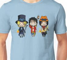 Ace Luffy Sabo - One Piece Unisex T-Shirt