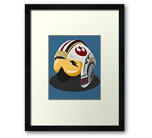 Star Wars Rebel Alliance Fighter Helmet Framed Print