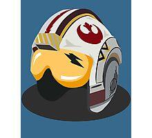 Star Wars Rebel Alliance Fighter Helmet Photographic Print