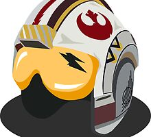 Star Wars Rebel Alliance Fighter Helmet by fabulouslypoor