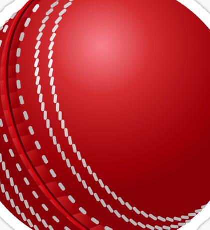 Cricket Ball Sticker