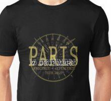 u2 paris 7th december Unisex T-Shirt