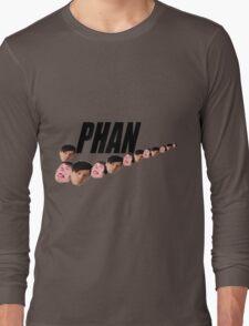 Phan ( Dan and Phil ) Nike Meme Long Sleeve T-Shirt