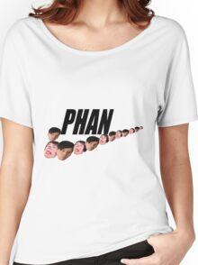 Phan ( Dan and Phil ) Nike Meme Women's Relaxed Fit T-Shirt