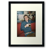 marshall eriksen drinking beer Framed Print