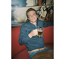 marshall eriksen drinking beer Photographic Print