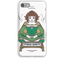 Sushi and scrolls iPhone Case/Skin