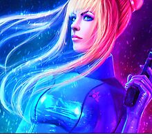 Samus Aran Zero Suit - Metroid by alakaprazolam
