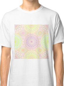 Colorful Hippie Mandala Pattern Classic T-Shirt