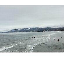 santa monica ocean Photographic Print