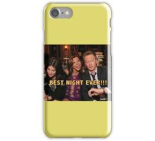 robin, lily and barney (best night ever)  iPhone Case/Skin