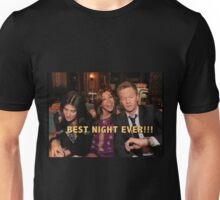 robin, lily and barney (best night ever)  Unisex T-Shirt