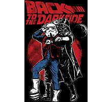 Star Wars & Back to the future - Back to the darkside Photographic Print