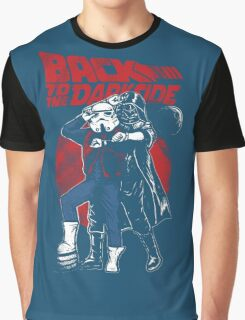 Star Wars & Back to the future - Back to the darkside Graphic T-Shirt