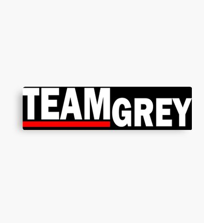 Team Grey new - For Dark Canvas Print