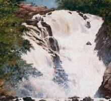 Waterfall at Votorantim Sticker
