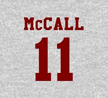 Mccall 11 Scot mccall Beacon Hills lacrosse - maroon ink Women's Fitted Scoop T-Shirt