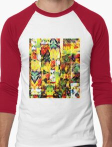 Abstract Patterns [Digital Illustration] Men's Baseball ¾ T-Shirt