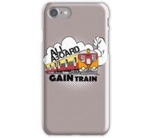 All Aboard Gain Train iPhone Case/Skin