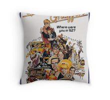 Movie Poster Merchandise Throw Pillow