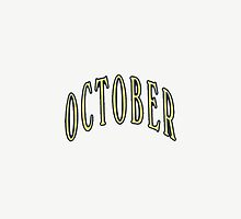 October- OVO by vicgotshirts
