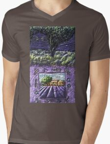 """Exclusive: """" Lavender of Provence Wonderful eternal France """" / My Creations Artistic Sculpture Relief fact Main 25  (c)(h) by Olao-Olavia / Okaio Créations Mens V-Neck T-Shirt"""