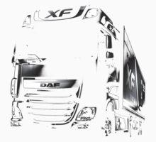 DAF, DAF Truck, DAF XF Kids Tee