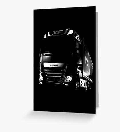 DAF, DAF Truck, DAF XF Greeting Card