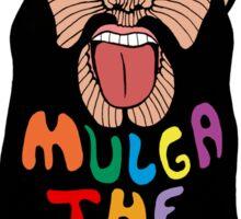 Mulga The Artist Portrait Doodle Sticker