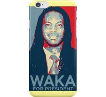 Waka flocka flame for president  (high quality) iPhone Case/Skin