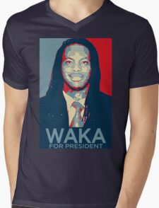 Waka flocka flame for president  (high quality) Mens V-Neck T-Shirt