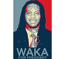 Waka flocka flame for president  (high quality) Photographic Print