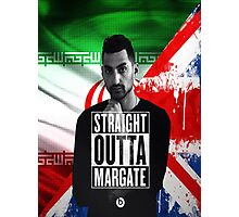 Mic Righteous Straight outta Margate/Britain/Iran Photographic Print