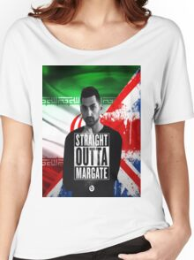 Mic Righteous Straight outta Margate/Britain/Iran Women's Relaxed Fit T-Shirt