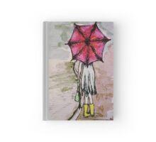 Red Umbrella Hardcover Journal
