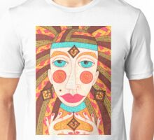 Mysterious fortuneteller gipsy woman Unisex T-Shirt