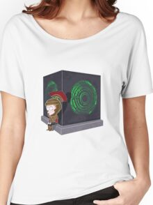 Waiting for a mad girl with red hair Women's Relaxed Fit T-Shirt