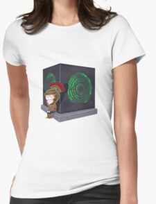 Waiting for a mad girl with red hair Womens Fitted T-Shirt