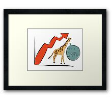 Jodie the G-RAPH Framed Print