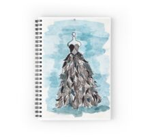 Rag Tag Dress Spiral Notebook