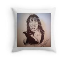 Jackee Harry Throw Pillow