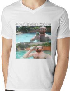 #DOTHEDICKSON Mens V-Neck T-Shirt