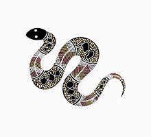 Authentic Aboriginal Art - Snake Unisex T-Shirt