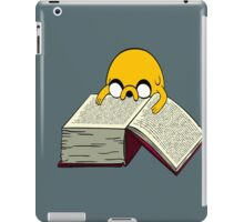 Jake Reading a Giant Book - AdventureTime! iPad Case/Skin