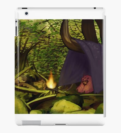 traveling forest child iPad Case/Skin