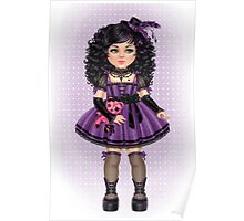 Little Goth Doll Poster